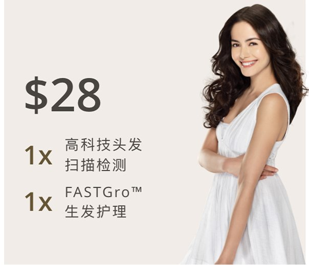 $28 Promotion - Hair & Scalp Analysis + FASTGro Hair & Scalp Treatment